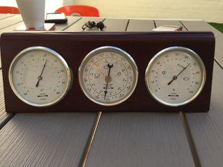 Termómetro, barómetro higrometro