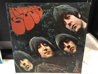 Disco vinilo The Beatles Rubber Soul