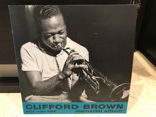 Disco vinilo Clifford Brown memorial álbum