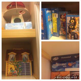 Venta de juegos y libros