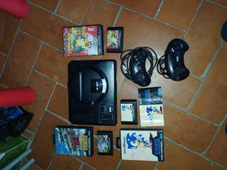 SEGA Mega Drive clásica