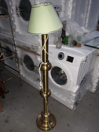 lampara de pie de bronce y Laton de 1'41