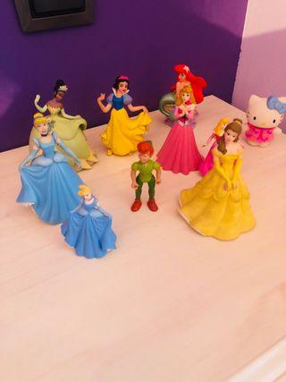 Muñecos princesas
