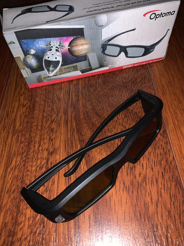Proyector Optoma Full Hd 1080 3D + gafas 3D