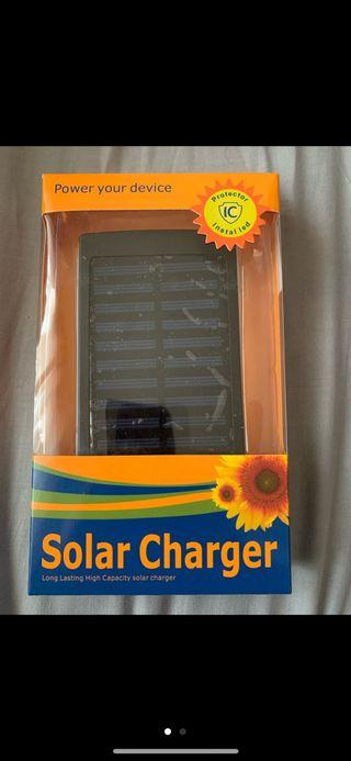 Batería externa solar nueva 50.000mah