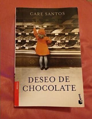 """""""Deseo de Chocolate"""" (novela)"""