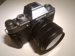 Fujifilm X-T100 con objetivo