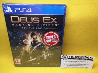 Deus Ex Mankind Divided (NUEVO) - ps4