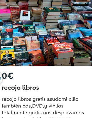 libros recojo gracias