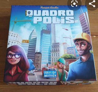 juego, juegos de mesa quadropolis