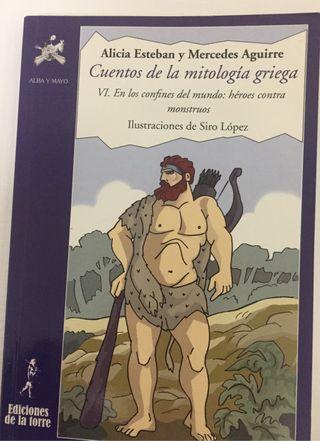 Libro: Cuentos de la mitología griega VI