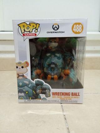 funko pop hammod (wrecking ball) overwacht