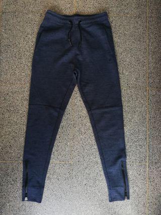 Pantalon chandal azul/negro