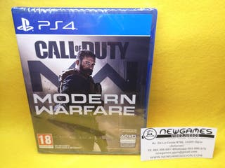 Call of Duty Modern Warfare (NUEVO) - ps4