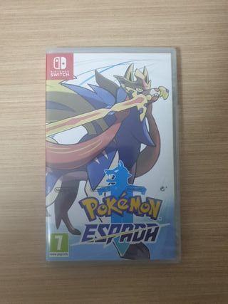 pokemon espada a estrenar nintendo switch