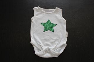 Body de bebé sin mangas. Nuevo