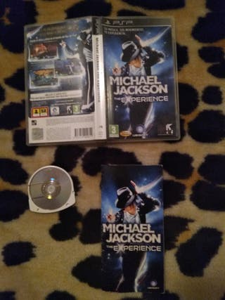 Juego Michael Jackson The experience PSP