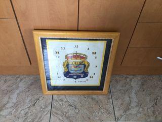 Cuadro Reloj Unión Deportiva Las Palmas