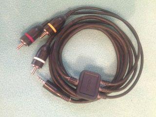 Cable Nokia jack y RCA