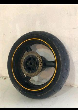 rueda trasera completa r6