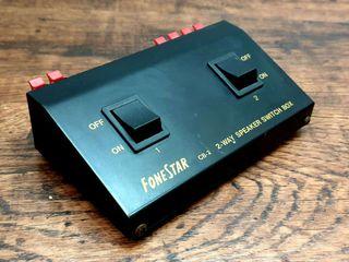 Distribuidor conmutador salida bafles ( Mas Imagen y audio en mi perfil