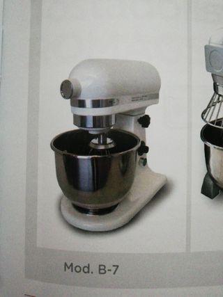 batidora planetaria 7 litros mas accesorios