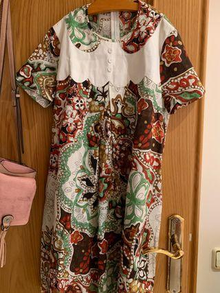 Vestido de verano muy bonito estampado