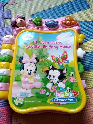 libro musical Minnie Disney
