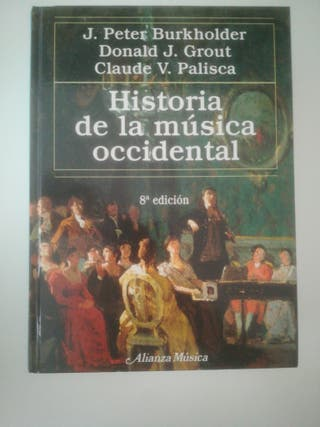Historia de la música occidental 8ª edición