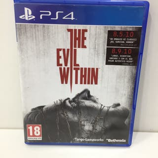 JUEGO SONY PLAYSTATION 4 PS4 THE EVIL WITHIN