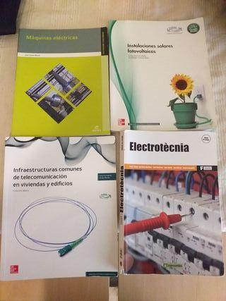 LIBROS CFGM DE ELECTRICIDAD