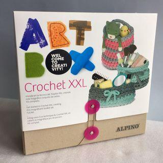 Art Box Crochet XXL Manualidades Alpino. Completo
