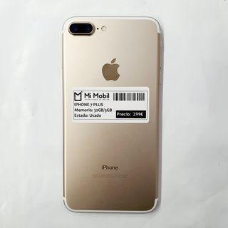 IPHONE 7 PLUS 32GB ROSA - USADO