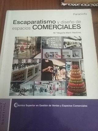 libro de escaparatismo y diseño de espacios
