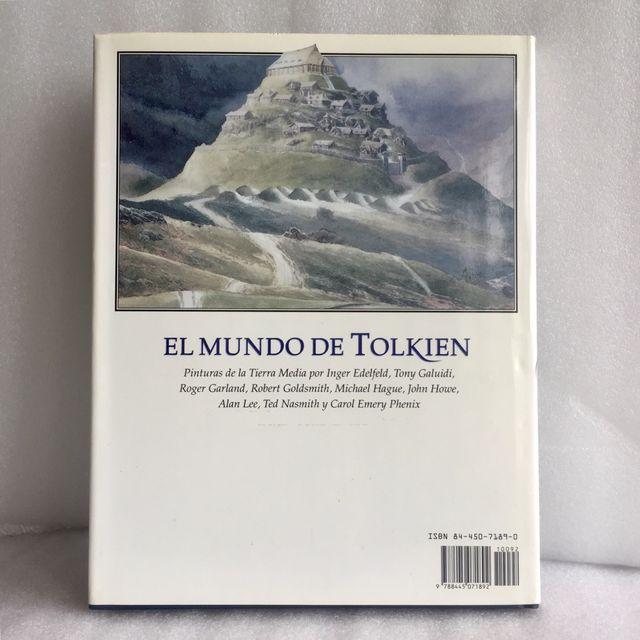 EL MUNDO DE TOLKIEN PINTURAS. IMPECABLE