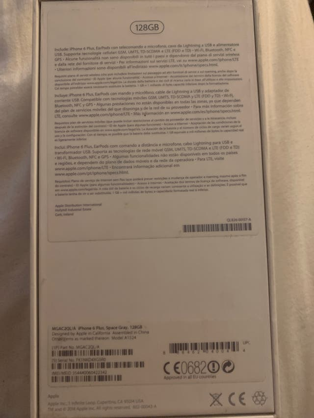 CAJA APPLE iPhone 7plus