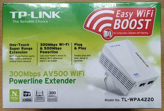 PLC TL-WPA4220 de TP-LINK internet por corriente