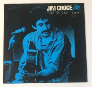 JIM CROCE Live The final tour Disco Vinilo Lp