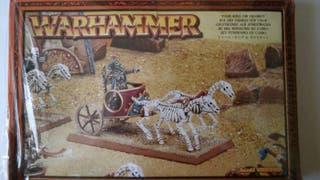 Warhammer Reyes funerarios rey funerario en carro