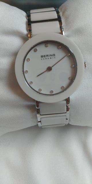 Reloj mujer Bering blanco cerámica