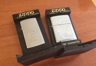 2 Mecheros Zippo Nuevos en su Caja.