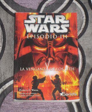 LIBRO STAR WARS LA VENGANZA DE LOS SITH