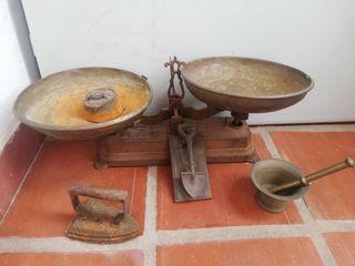 colección de antiguedades