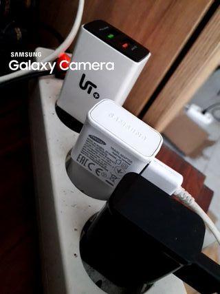 Cargadores con puerta USB