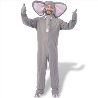 disfraz de carnaval elefante gris XL-XXL