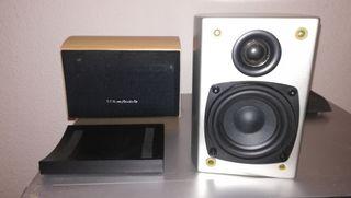 Altavoz Wharfedale o AudioPro a elegir