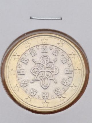 1€ de Portugal 2006, SIN CIRCULAR,