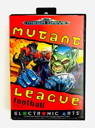 MUTANT LEAGUE - mega drive