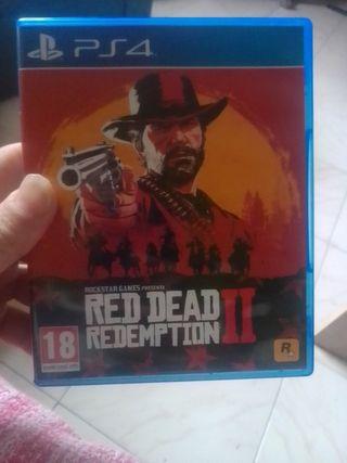 red redeption 2 seminuevo ps4