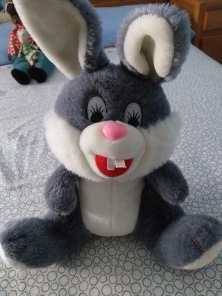 Peluche grande conejo